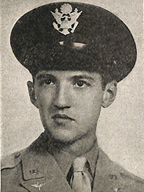 Attached photograph of Second Lieutenant Wheary