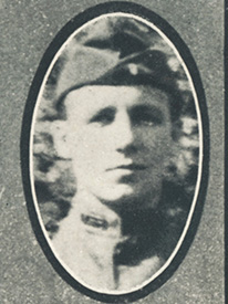 Attached photograph of First Lieutenant White
