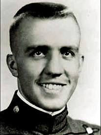 Attached photograph of Captain Widder