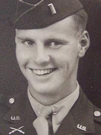 Attached photograph of First Lieutenant Zender