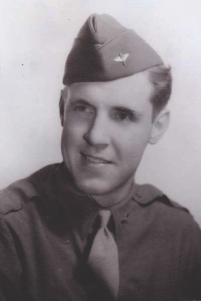 Attached photograph of Second Lieutenant Walthers