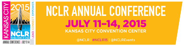 2015 NCLR Annual Conference Banner