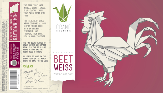 Beet Weisse Label