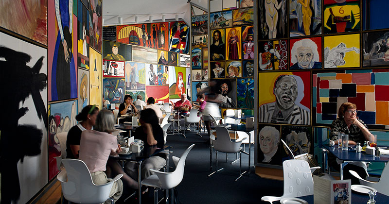 Cafe Sebastienne at the Kemper Museum of Art