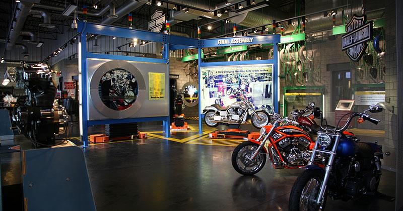 Harley Davidson Plant in Kansas City
