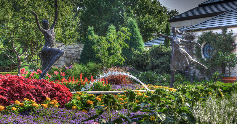 Kauffman Memorial Gardens in Kansas City