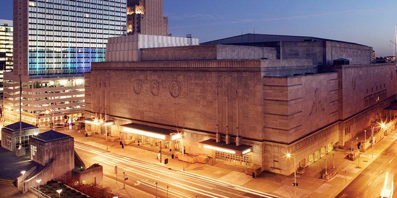 Municipal Auditorium Exterior