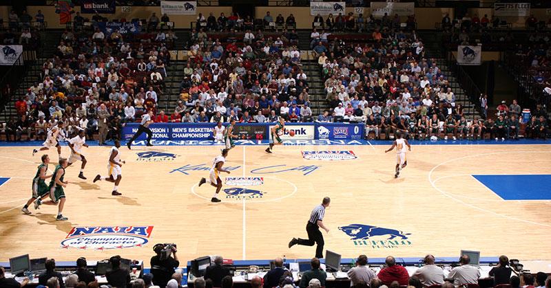 NAIA Basketball Tournament in Kansas City