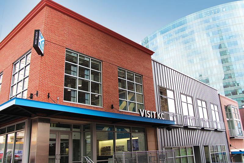 Visit KC Office Exterior