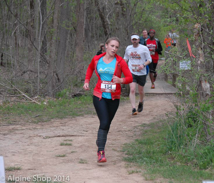Trail runner at Alpine Shop 2014 Spring Trail Run Series
