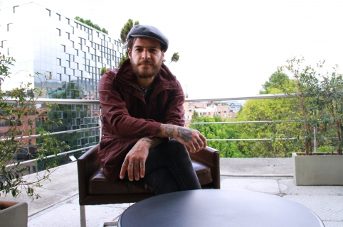 Mauricio Colmenares, vocalista Revolver Plateado.
