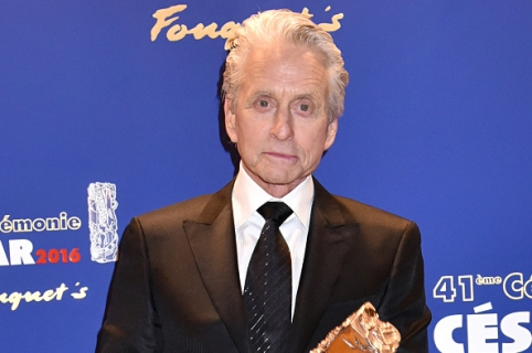 PARIS, FRANCE - FEBRUARY 26:  Michael Douglas attends the Dinner at Le Fouquet' after the Cesar Film Awards 2016 on February 26, 2016 in Paris, France.  (Photo by Foc Kan/WireImage)