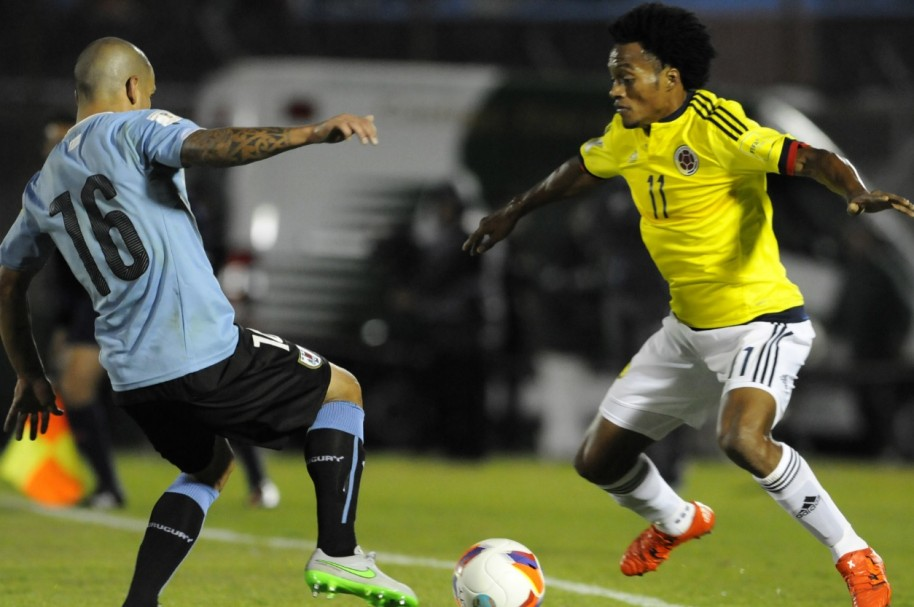 Colombia Uruguay Getty