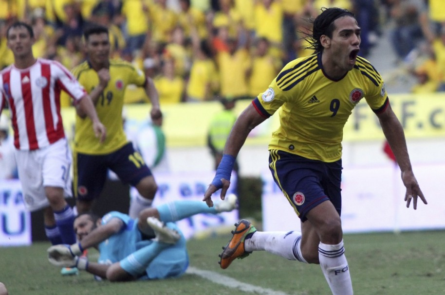 Falcao Paraguay Getty