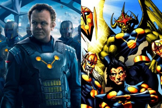 The Nova Corps John C Reilly Guardians of the Galaxy