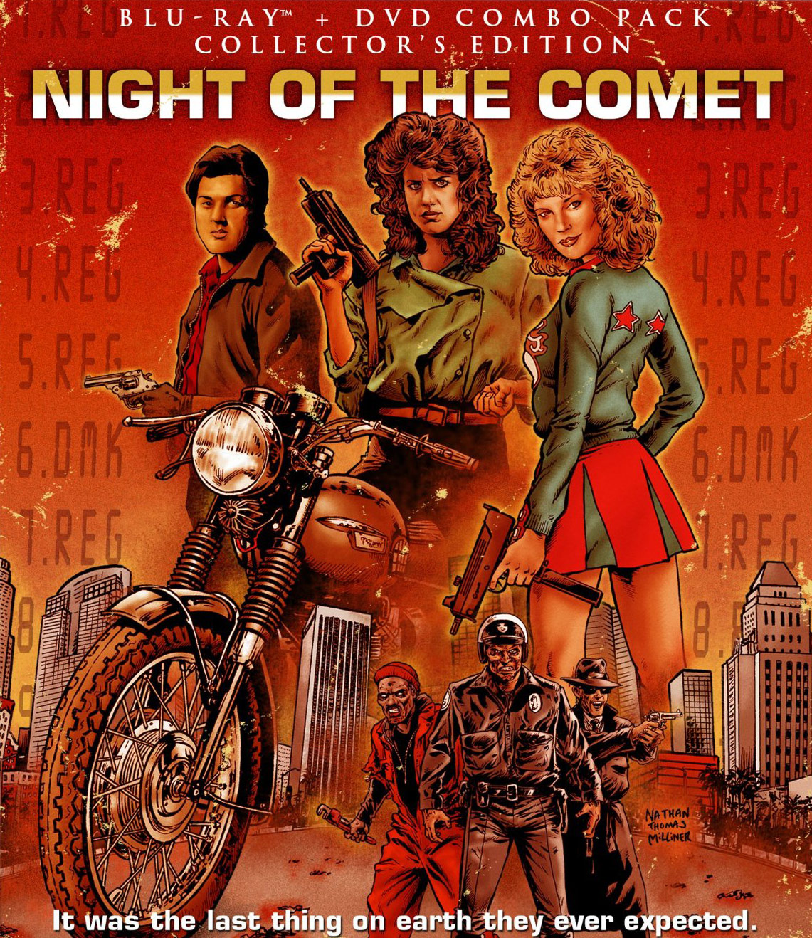 Night of the Comet is a work of cinematic genius along with The Last Star Fighter and Back to School.