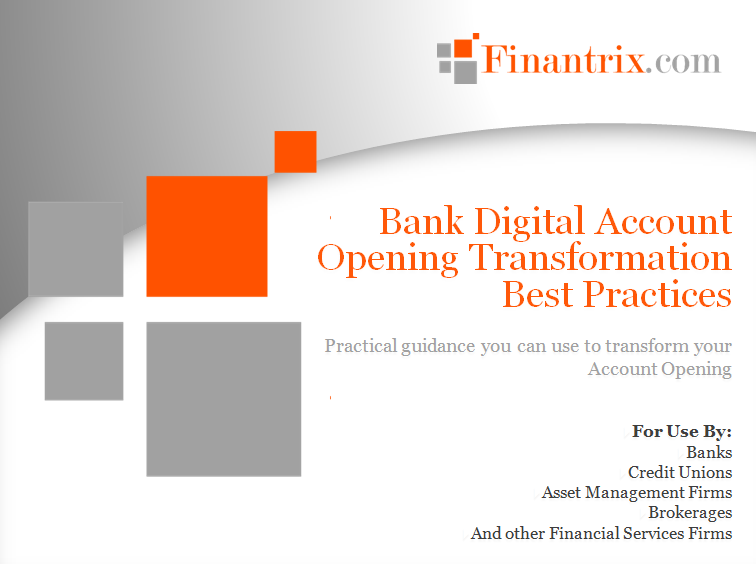 Digital Account Opening Transformation Best Practices