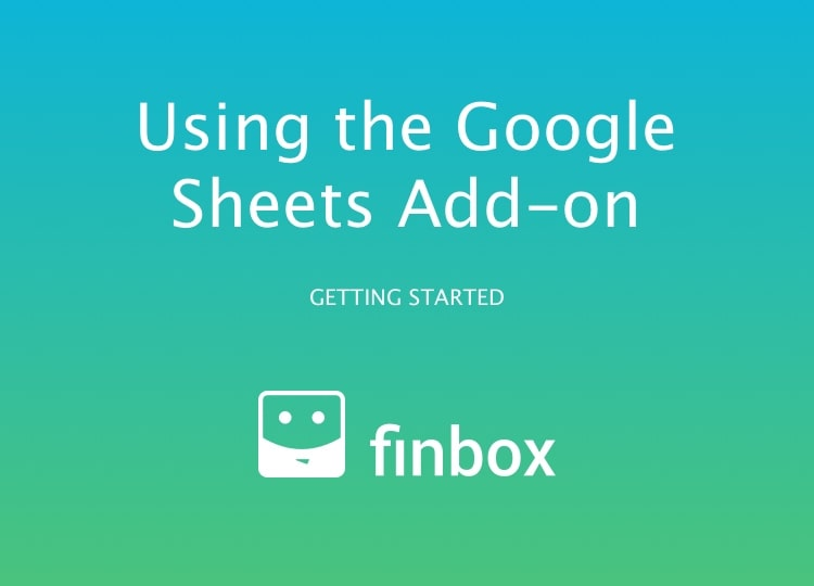 Using the Google Spreadsheets Add-on