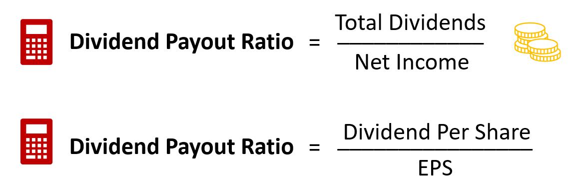 dividend payout ratio formula