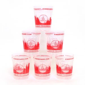 FireBoard 22oz Clear Cups