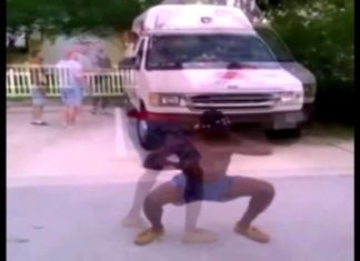 Guy Dancing to the Ice Cream Truck