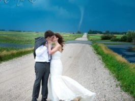 tornado wedding photos