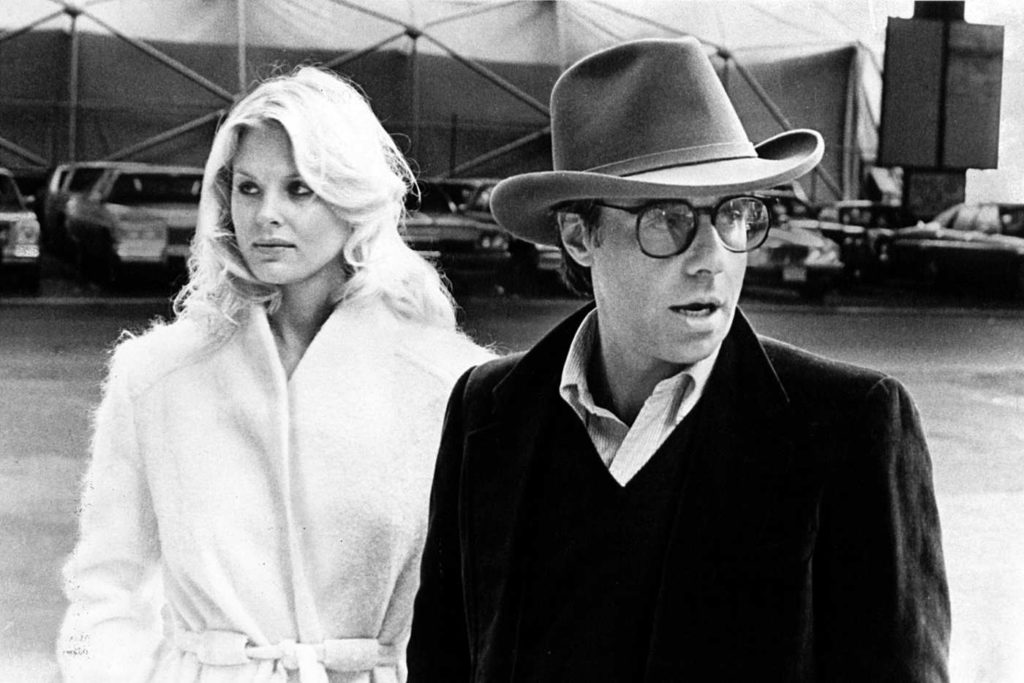 Dorthy Stratten and Peter Bogdanovich