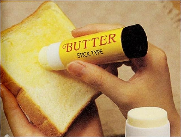 Absurd Inventions  - The Butter Stick