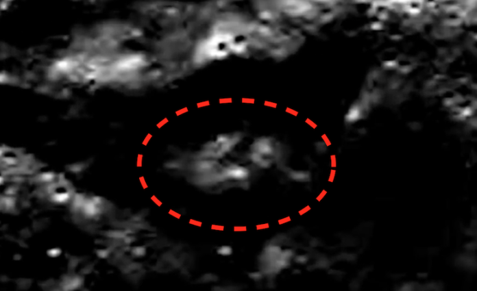 Photos Show Possible Alien Base on the Moon