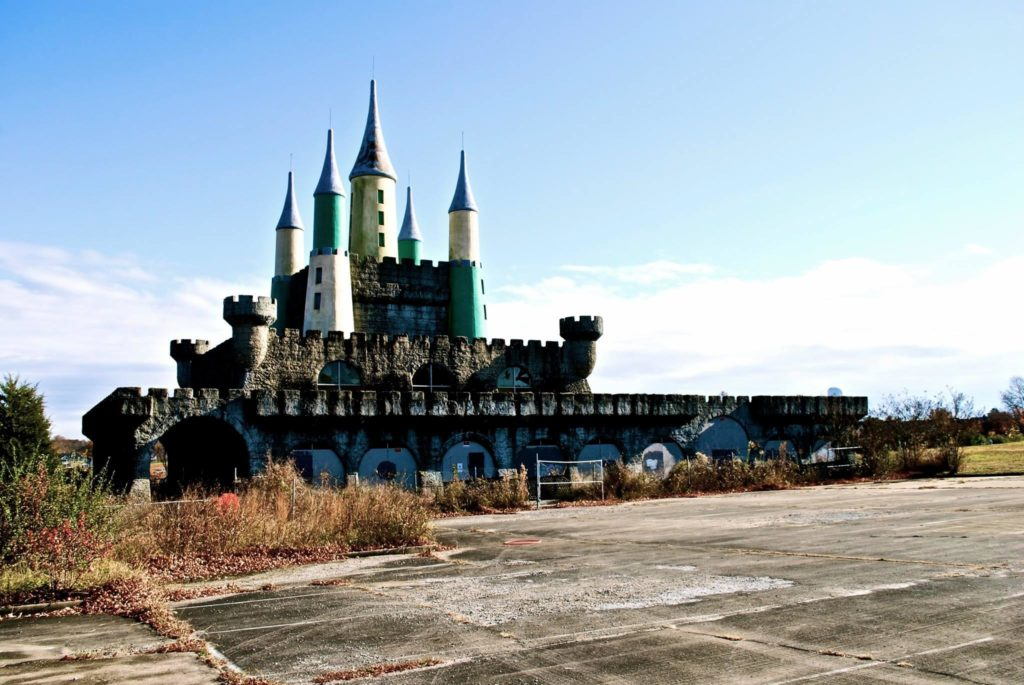 Heritage USA Creepy abandoned amusement parks