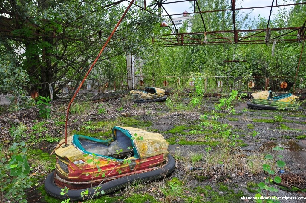 Prypiat Amusement Park Creepy abandoned amusement parks