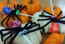 How to make Spider Lollipops