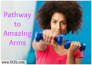 Pathway of Workouts to Amazing Arms for home fitness from Fit2B Studio
