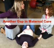 Another gap in maternal pregnancy care for bellies and moms