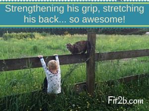 Kids are made to climb! ~ Fit2B.com