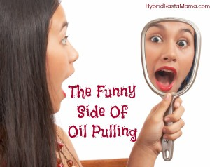 Fit2B writes about the funny side of oil pulling