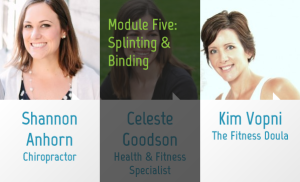 Chiropractic care, belly binding and your pelvic floor ALL tie into your core health! Find out how in the NEW eLearning course from fit2b.com