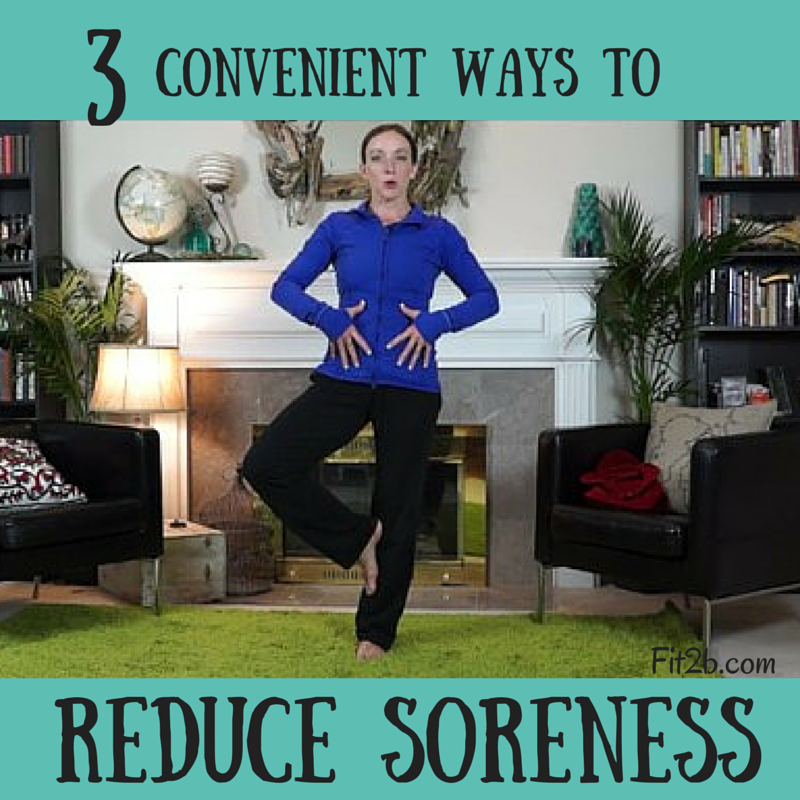 3 convenient ways to reduce post workout soreness - Fit2b.com