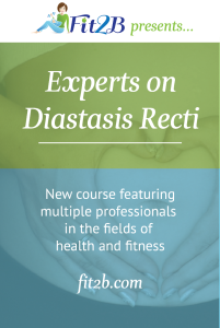 New eLearning course featuring multiple professionals in the fields of health and fitness UNITING TOGETHER from around the world to take on diastasis recti! - Fit2B.com
