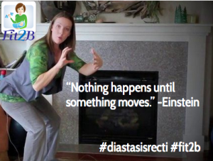 """Nothing happens until something moves."" -Einstein"