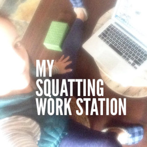 Position yourself in many places while you work on the computer, and your body will thank you! -Beth, Fit2b.com