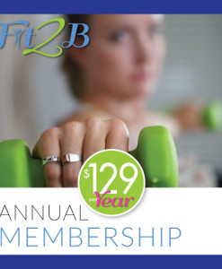 Annual Membership from Fit2B.com