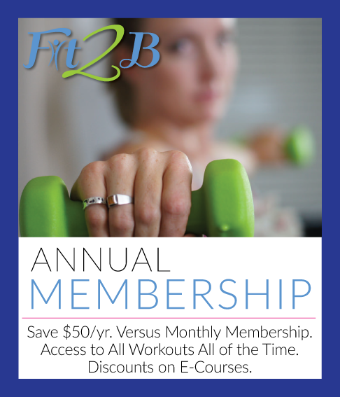 Fit2B Annual Membership