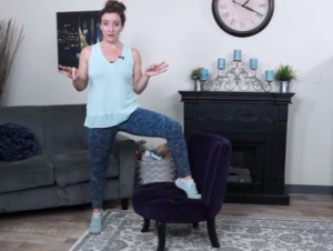 Hipster Chair Moves: Modern exercises for happy hips from fit2b.com