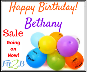 Beth's Birthday Sale - Fit2B Studio