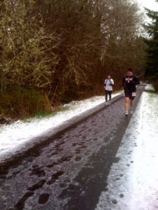 A great half marathon in Vernonia Oregon