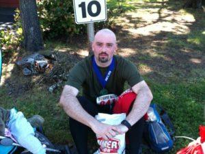 Newport Marathon - 3 hours 52 min!