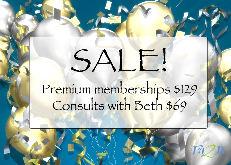 Memberships at Fit2B are on sale! - fit2b.com