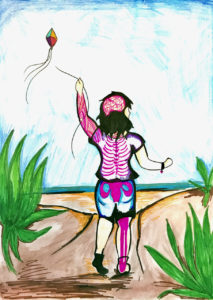 Fit2B Girls: Empowering young girls to understand and care for their bodies (artist: Maggie Behnke)