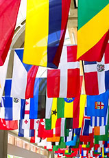 International and Country Flags